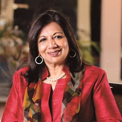 how Kiran Mazumdar shaw started her business? successful women entrepreneurs.