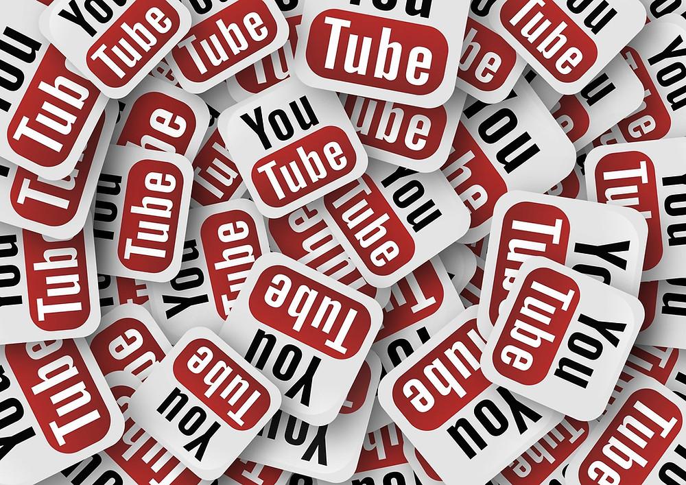 youtube, a social media platform.