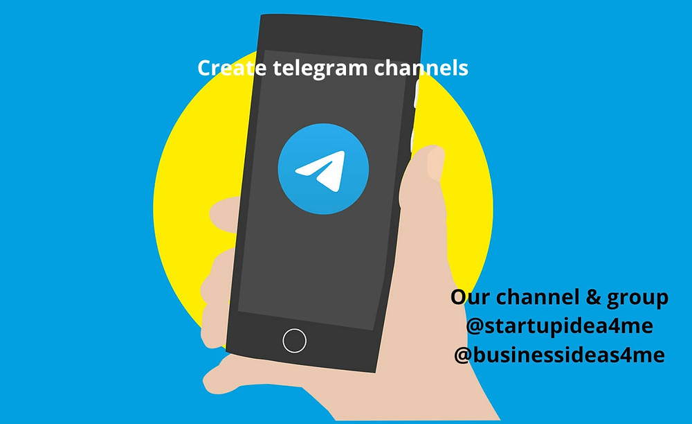 Telegram channel and groups