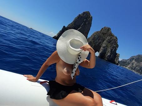 A Napoli Laura: DONNA DEL SUD!