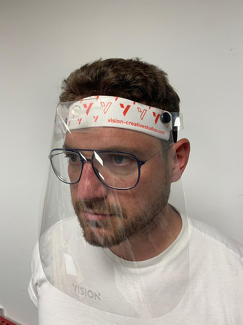 Soft Head Band With Interchangeable Visor/Glasses
