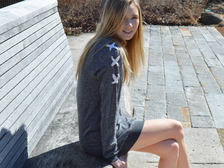 Sweatshirt Dresses for Spring