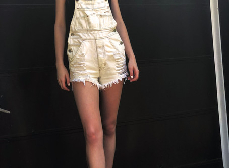 Weekend Outfits: Overall Shorts