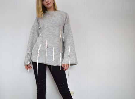 Ribbon Sweater, Closet Revamp