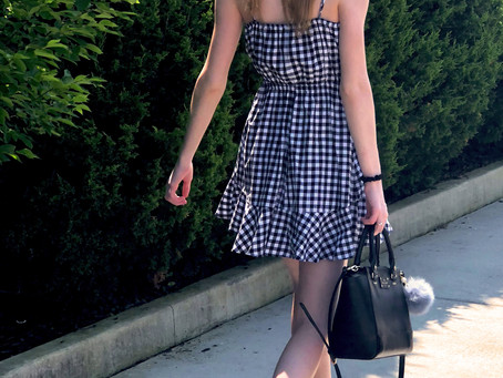 Gingham Sundress's