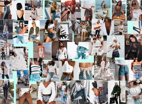Mood board for Summer