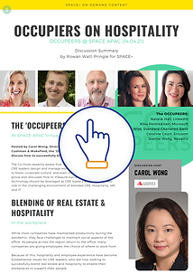 Occupiers on Hospitality @ SPACE APAC -