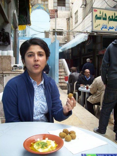 Earth Kitchen felafel and hummus Hashem Restaurant Amman