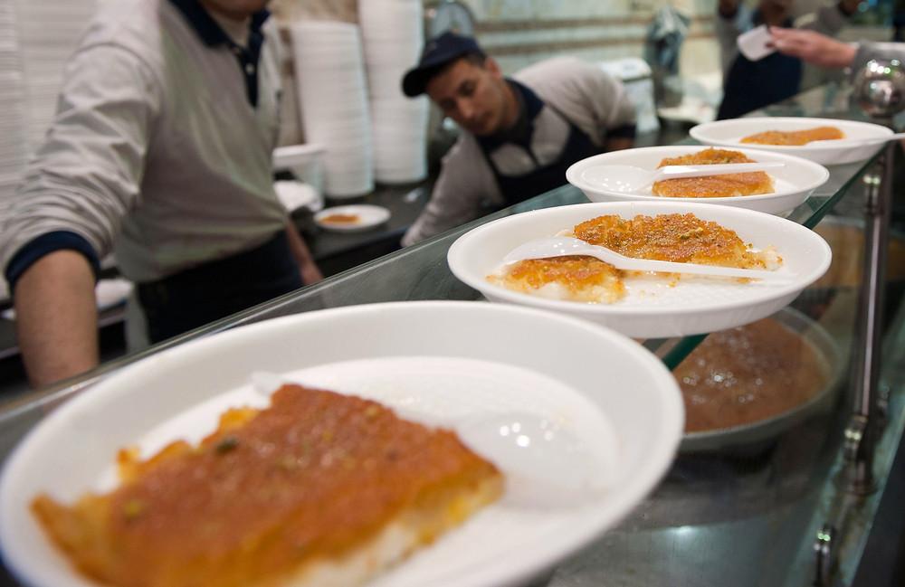 Earth Kitchen Kunafa at Habibah