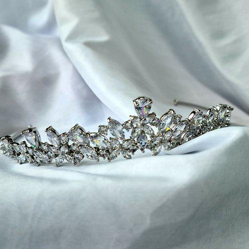 Florence Simulated Diamond Tiara