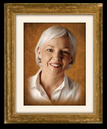 Glass Tribute Portrait