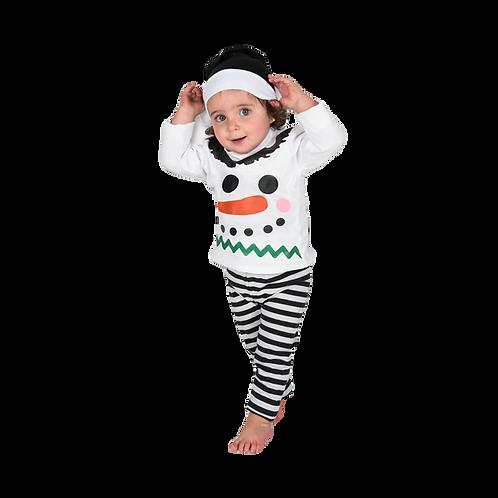 Pijama Bebé Muñeco de Nieve