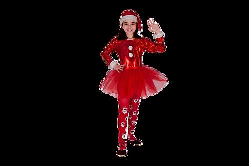 Disfraz Santa Claus Niña
