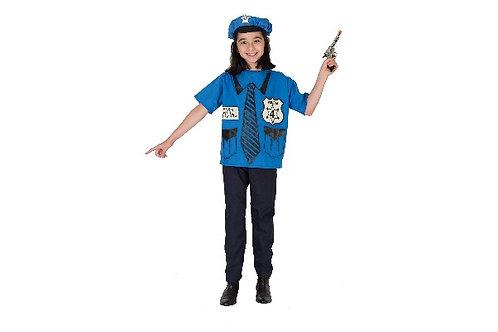 Disfraz De Policía Unisex