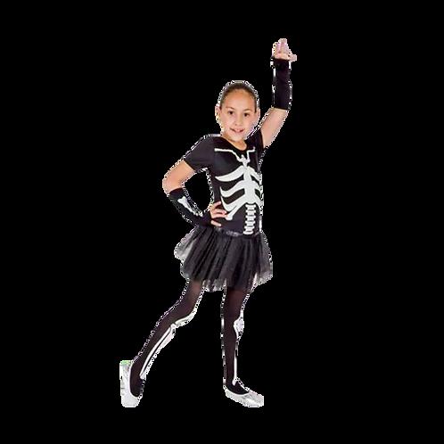 Disfraz  Esqueleto Niña