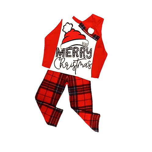 Pijama Navideña Infantil Unisex Merry