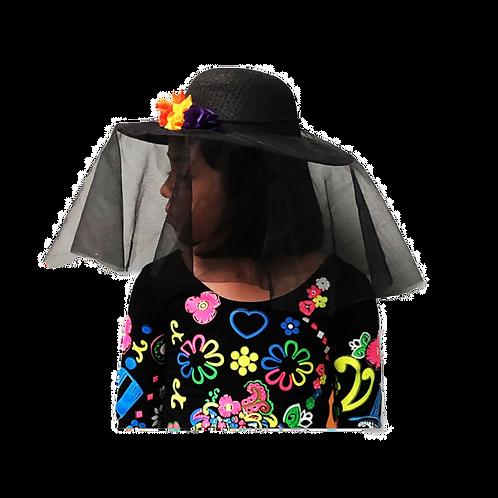 Sombrero de Catrina Niña ó Dama
