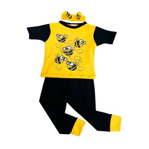 Pijama Abeja Infantil Unisex