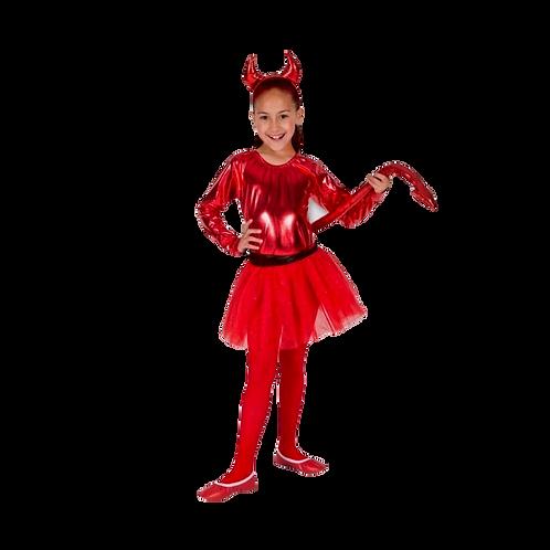 Disfraz  Diablita Niña