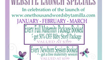 Website Launch Specials