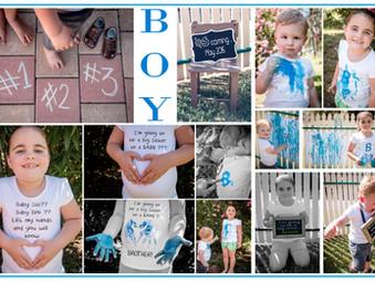 Gender Reveal - It's a BOY! - Paint Fight !