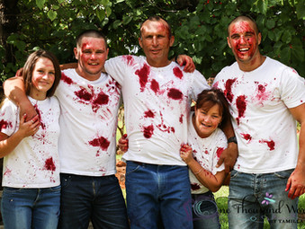 Family Session - Costers - Mulberry Fight !