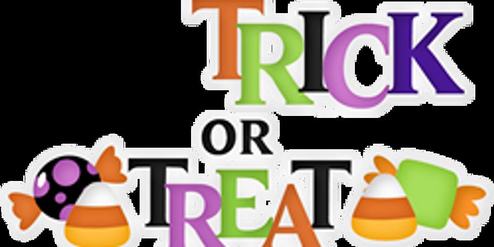 Halloween Drive-Thru Trick or Treat 2020