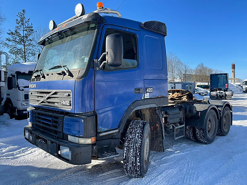 Volvo FM12, 1999, 6x4, full steel, manual