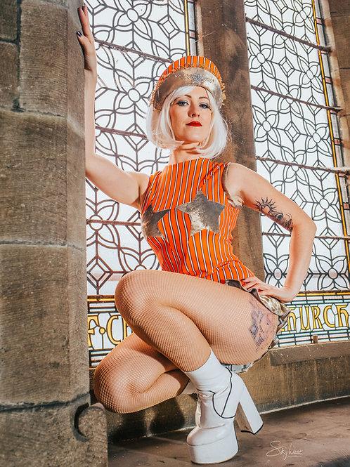 Star Tittie Circus leotard