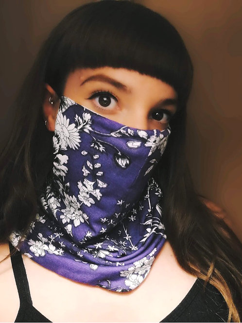PRINTED JAZZY FACE SCARF- PATTERNS