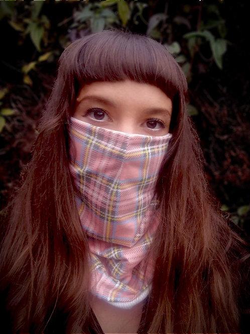 Tartan Jersey Face scarf