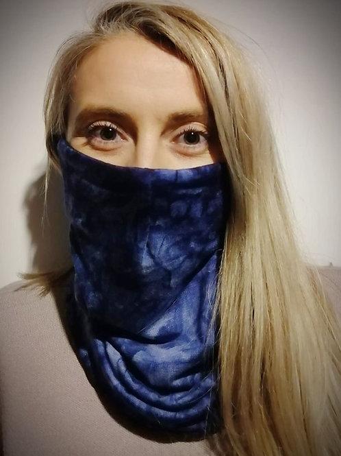 Blue tie dye no.15