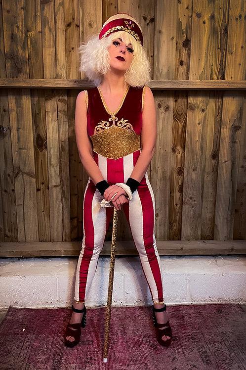 Circus girl unitard