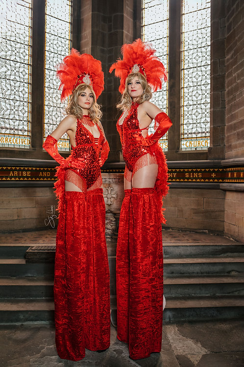 Red Ruby Showgirl Collection