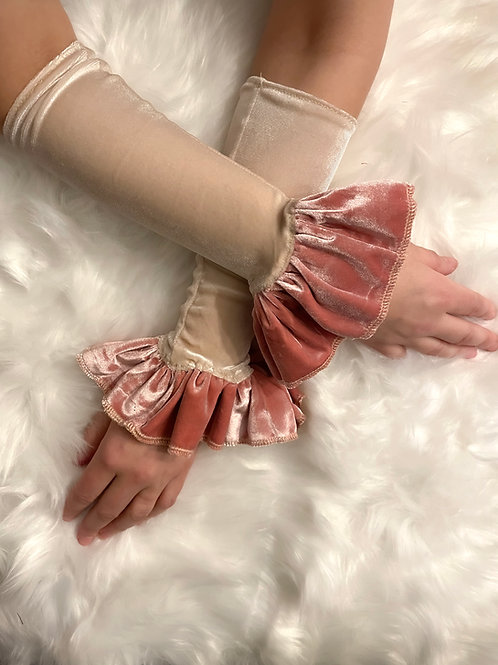 Vintage pink Circus cuffs