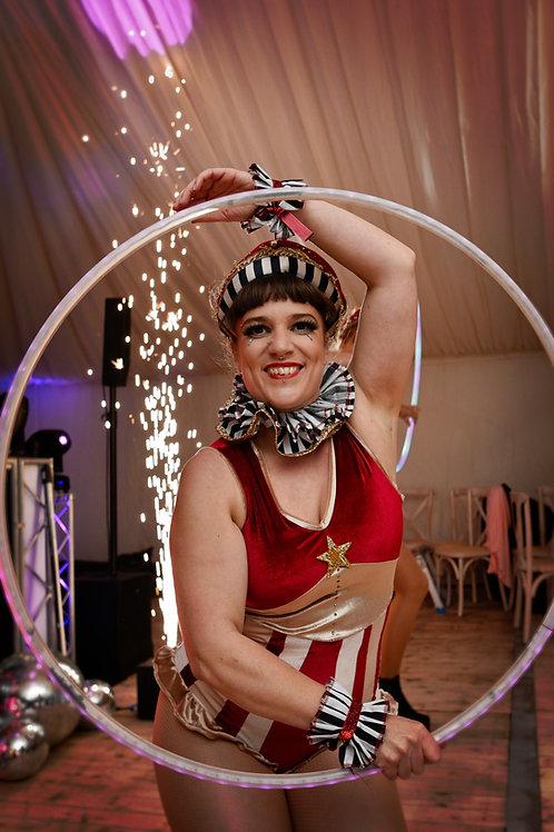 Strong gal Circus leotard