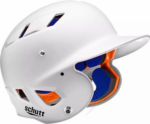 Schutt Baseball/Softball Matte White Helmet