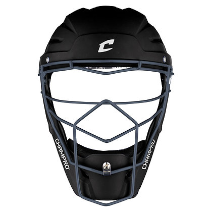 Optimus Pro Rubberized Matte Catcher's Headgear