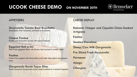 UCOOK Cheese Demo
