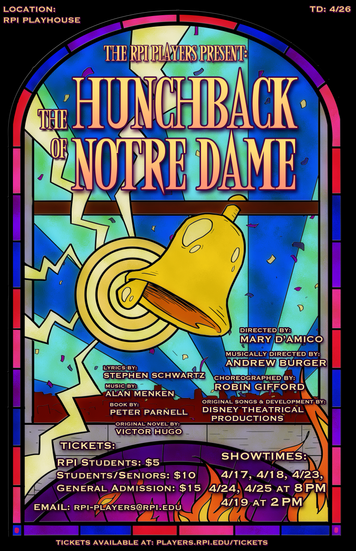 Hunchback Glass Poster