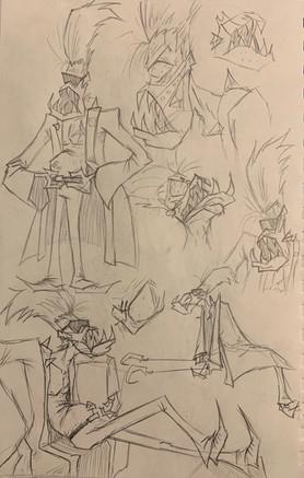 KingCruise Sketches 2