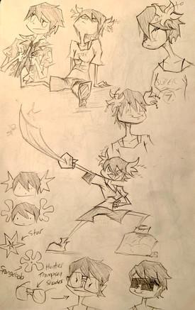 Lita Sketches 2
