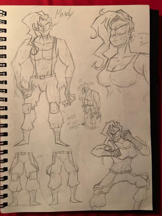 Mandy Sketches 1