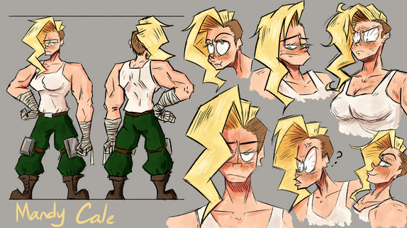 Mandy Turns & Expressions