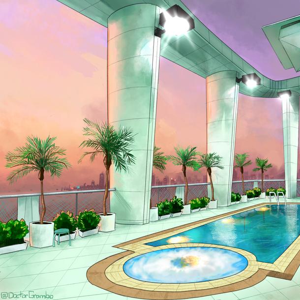 April 2021: Vaporwave Pool