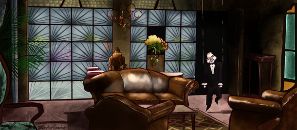 July 2021: Deep Red Puppet Room