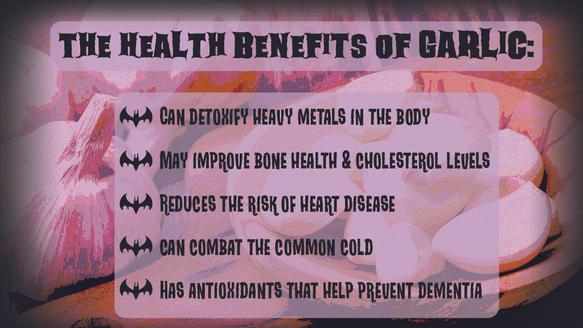 Benefits of Garlic DS