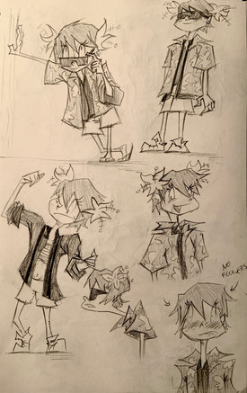 Lita Sketches 3