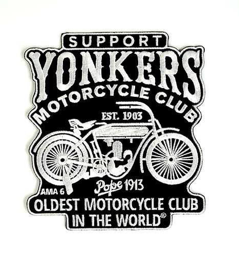 Yonkers MC Globe Style Support Patch
