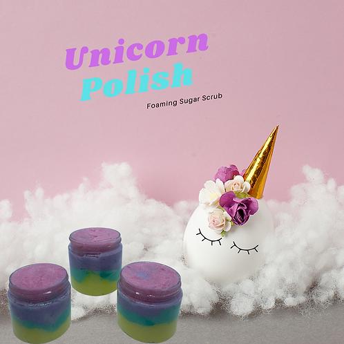 Unicorn Polish Foaming Sugar Scrub
